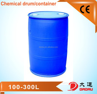 HDPE blue plastic container 200 litre blue plastic drum 55 gallon HDPE plastic drums for storage made in China