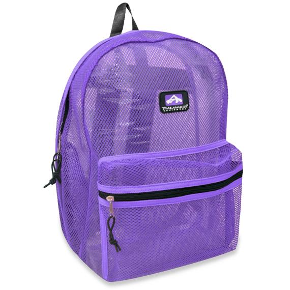 Hot sale 2017 promotional new fashion mesh sports backpack bag