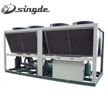 China supplier Low Price air cooled screw type chiller /Industrial chiller/single compressor