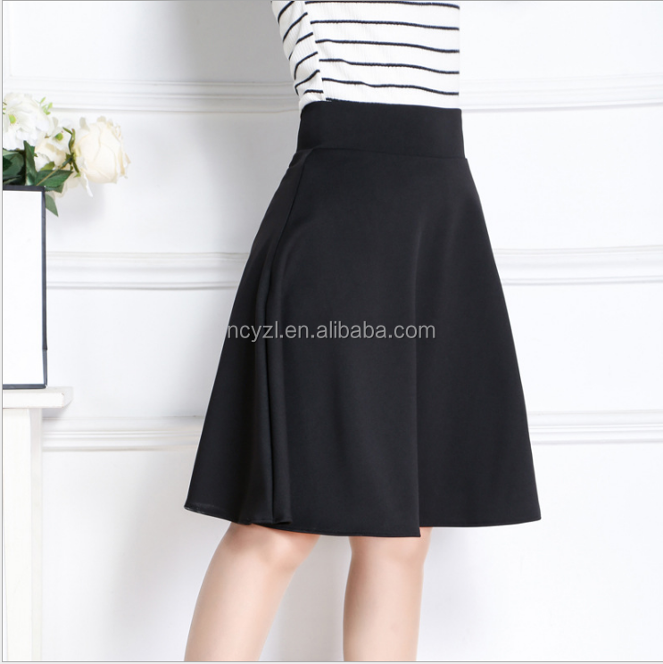 custom wholesale sexy girl mini skirt women's short black and red dress