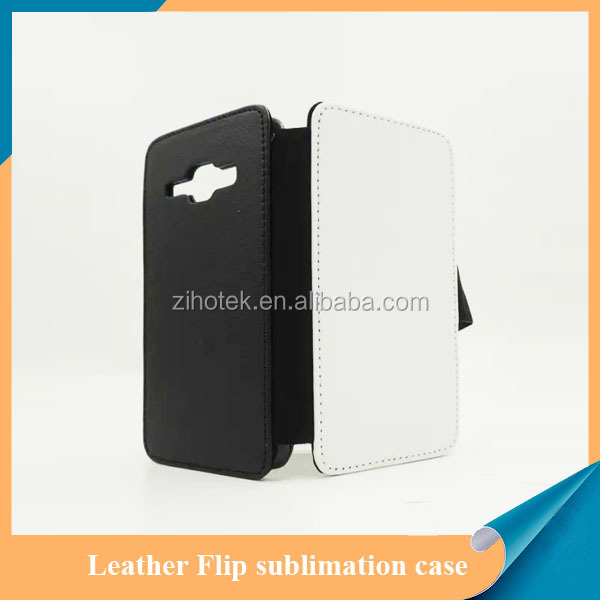 Leather sublimation wallet mobile phone case for Samsung Galaxy J1