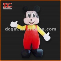 Lovely Mickey Mouse PVC Inflatable Cartoon