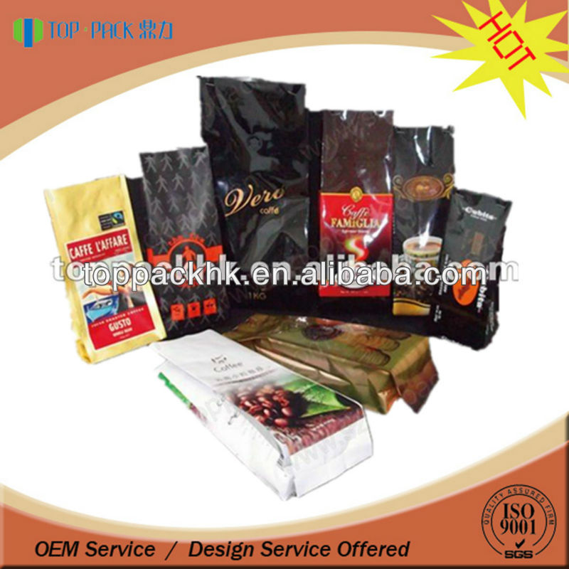 stock coffee bag ready for delivery in various colors