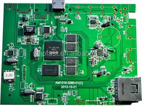 FR-4 and Rogers 4350b mixed pcb board manufacture