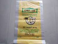 100kg 50kg 25kg high quality polypropylene rice bag for packing rice, flour, wheat, paddy