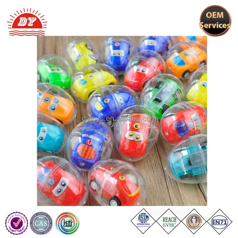 Sedex manufacture round shape plastic rubber egg toy