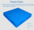 1210mm standard size durable plastic pallet PP056 for industrial