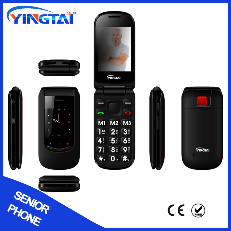 ShenZhen cheap prices unlocked GSM senior old man cell phone Mobile phones with FM SOS big button flashlight