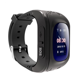 Original New Q50 LCD Smartband Sim Card Gps Smart Baby Watch for Kids with Android App Tracking