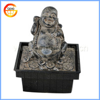Laughing buddha statue buddha water fountain for sale