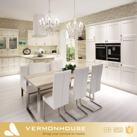 2017 Vermonhouse Classical White Shaker Door Style Design American Kitchen Cabinet