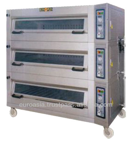 OVEN - ELECTRIC OVEN 3-DECK 12-TRAY