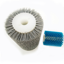 sheet, pretreatment line series polishing brush roller and wood polishing brush