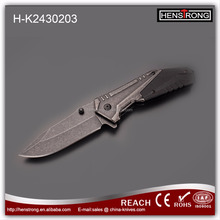 Newest Titanium Stainless Steel Folding Rescue Knife