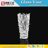 wholesale decorative tall century ice break glass mosaic vase