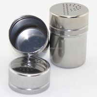 China stainless steel spice jars wholesale/bulk spice jar/1 oz spice jars wholesale