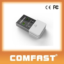COMFAST CF-WU715N Wifi Amplifier,Ultramini portable 300mbps dual band 2.4ghz / 5ghz usb wifi adapter