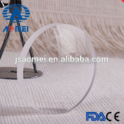 optical laboratory 1.56 semi finished round top bifocal resin lens
