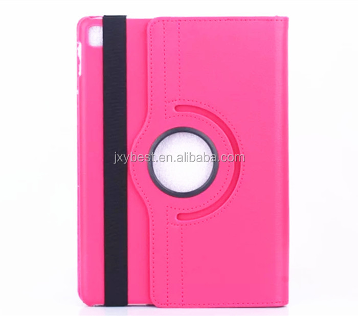 High Quality 360 degree rotating leather flip smart cover case for <strong>ipad</strong> Pro 9.7 inch