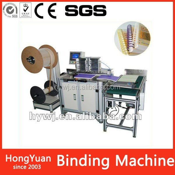 DWC-520A china wholesale ring binding machine Automatic double wire forming and binding machine