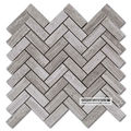 Century Mosaic Shower Surround Decorative Herringbone Premium Light Wooded Mosaic Tiles