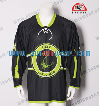 Sublimation High Quality Team Sets Ice Hockey Jerseys