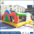 Huale 5*5m minion style used bounce house inflatable/inflatable kids air jumper for kids party