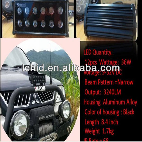 Liancheng Super Bright 4x4 Auto LED Light Bar Fog Light Off Road Toyota Hilux Lightstorm Offroad Driving Lamp LED Light Bar