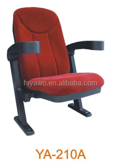 Foshan furniture lecture hall chair fabric cover cinema seats