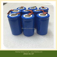 High quality 20PCS Sub C SC 1.2V 1800mAh Ni-Cd NiCd Rechargeable Battery for sale