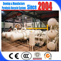 ZJ-6 continuous waste plastic pyrolysis plant with free installation