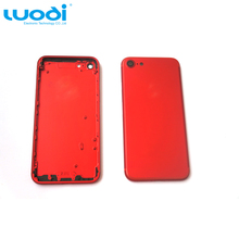 Mobile Phone Part Red back cover housing For iPhone 7 7 Plus Replacement New Accept Paypal