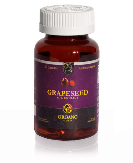 OrGano Gold Ganoderma Grape Seed Oil