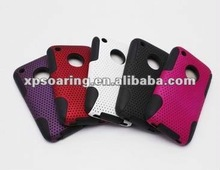 plastic with silicon case back cover for iphone 3GS,3G