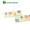 high quality custom urea dominoes rummy tiles game set