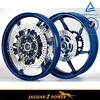 Driled Twin Front Discs Double Supermoto Motorcycle Brake Disc