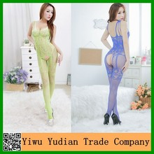 Wholesale Open Crotch Women Nude Sexy Hot Net Bodystocking