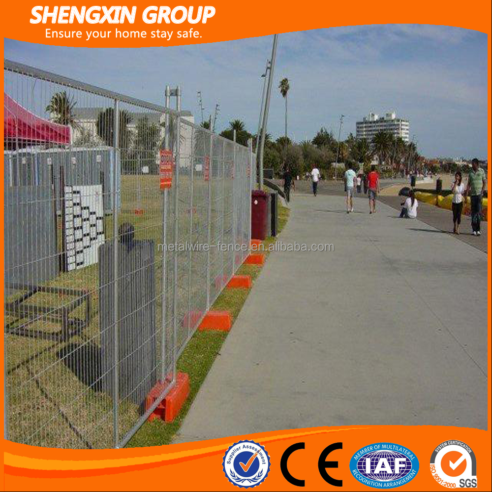 Clear plastic outdoor canada temporary fence