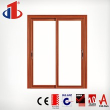 Japan Standard Sliding Oval Glass Door Inserts With Aluminum Door And Window Frame