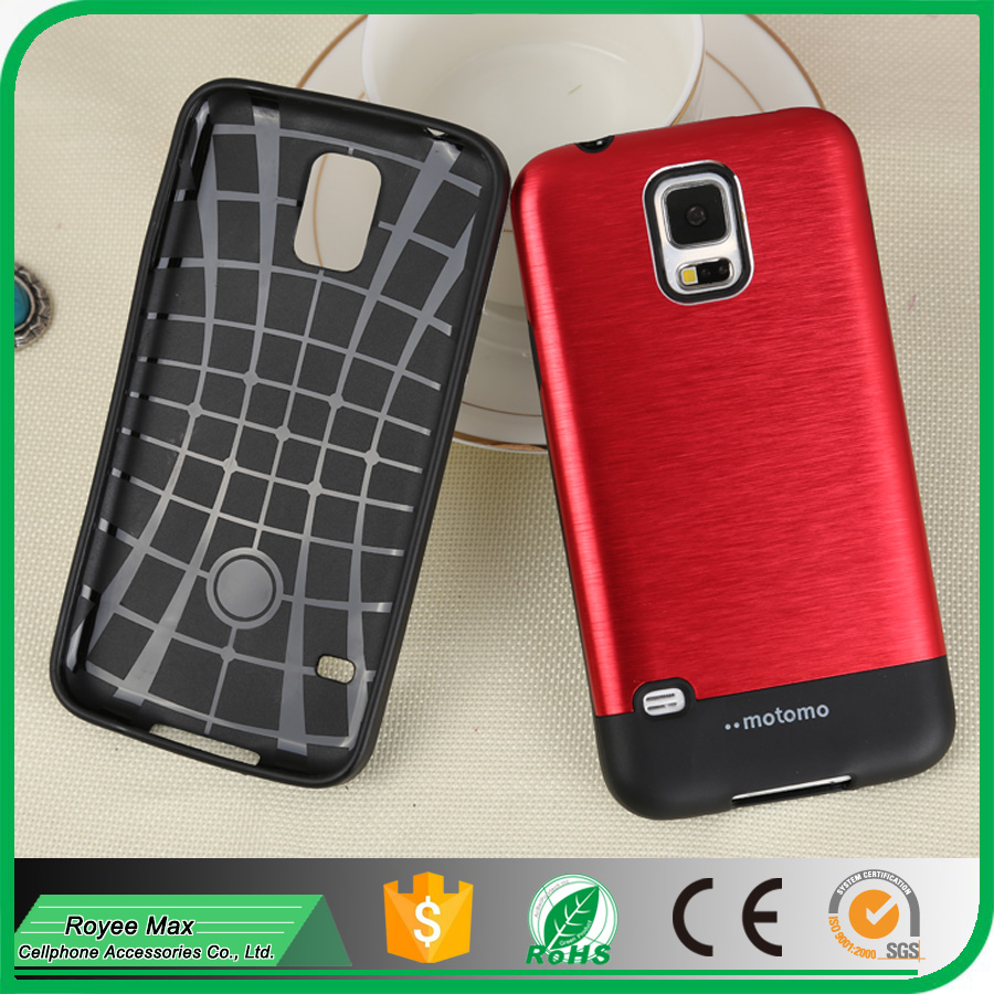 alibaba trade assurance new mobile cover ultra phone slim armor motomo case for samsung galaxy S5 i9600