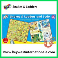 Snakes and Ladders and Ludo