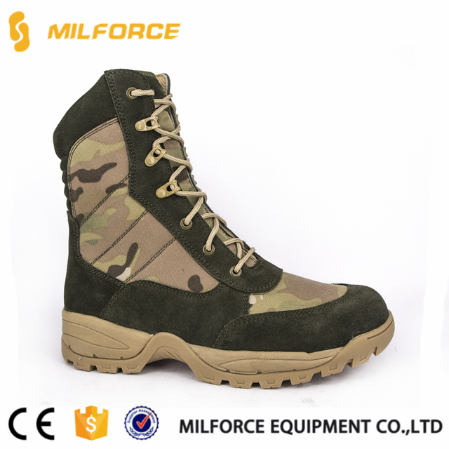 MILFORCE-army jungle military camouflage tactical combat boots