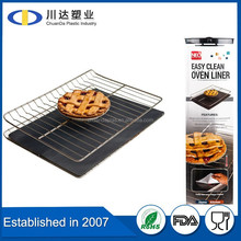 2015 Factory wholesale high temperature Easy cleaning Non-stick oven liner / ptfe coated fiberglass oven liner