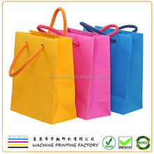Paper Material and Shopping Industrial Use Packaging bags