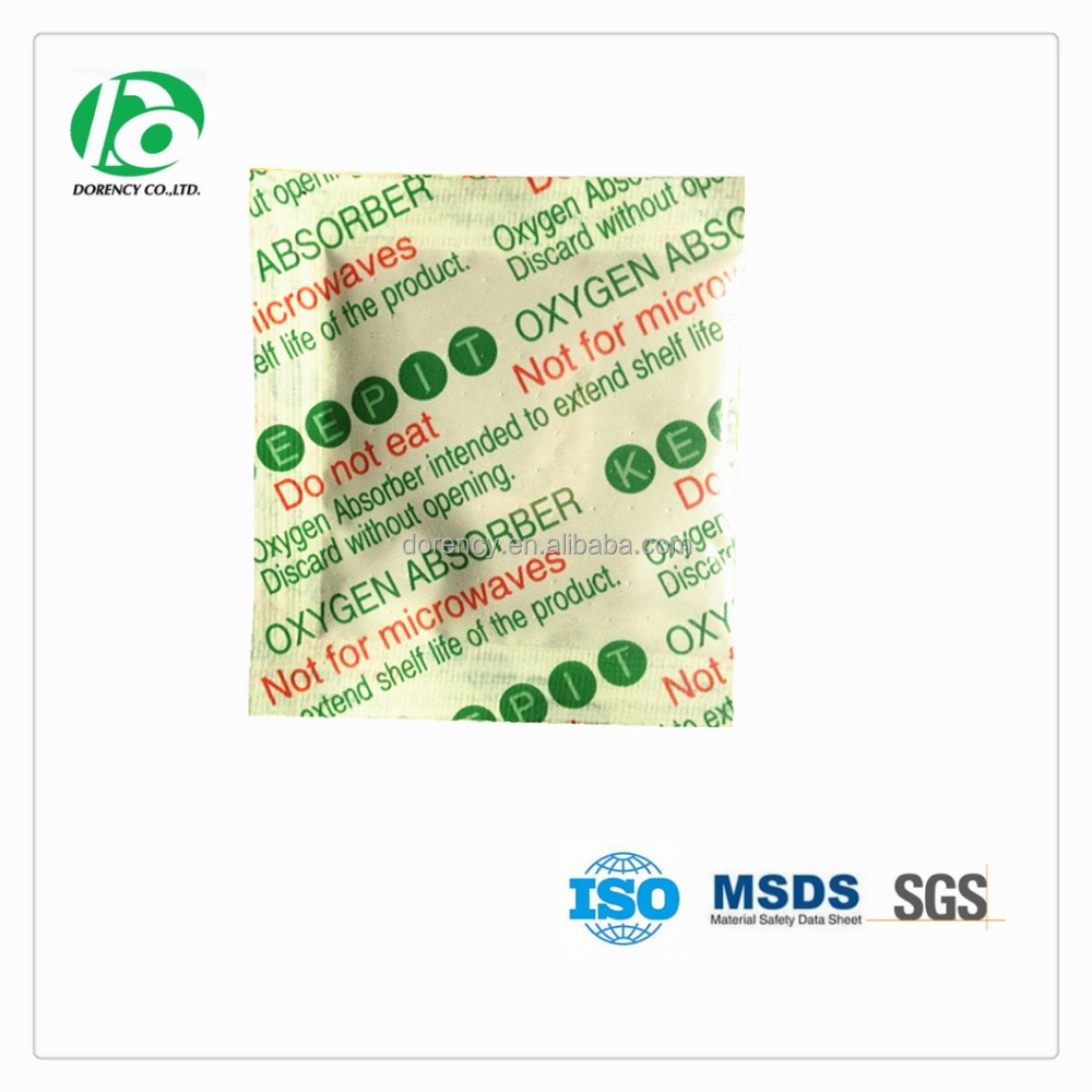 Food preservatives oxygen absorber 50cc for long term food storage