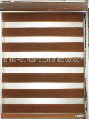 MEIJIA fashion zebra curtain/hospital curtains/double roller blinds