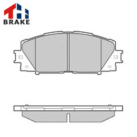 Auto spare parts brake pad sets disc brake
