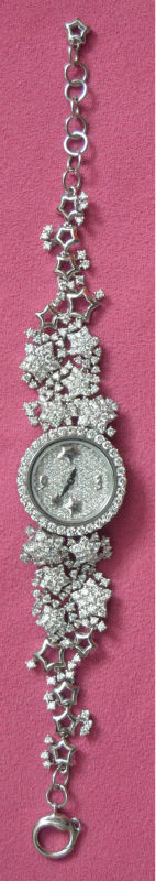 Personal owned diamond ladies watch with limited edition