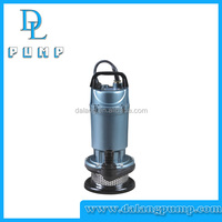 QDX Series 370w/550w/750w copper wire electrice centrifugal submersible water pump