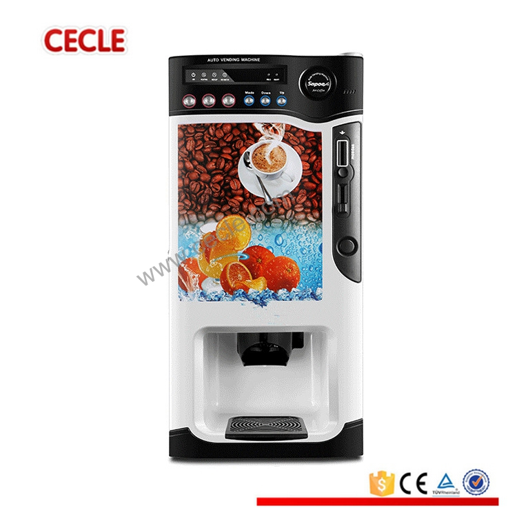 Hot selling mini coffee vending machine for resturan/hotel use